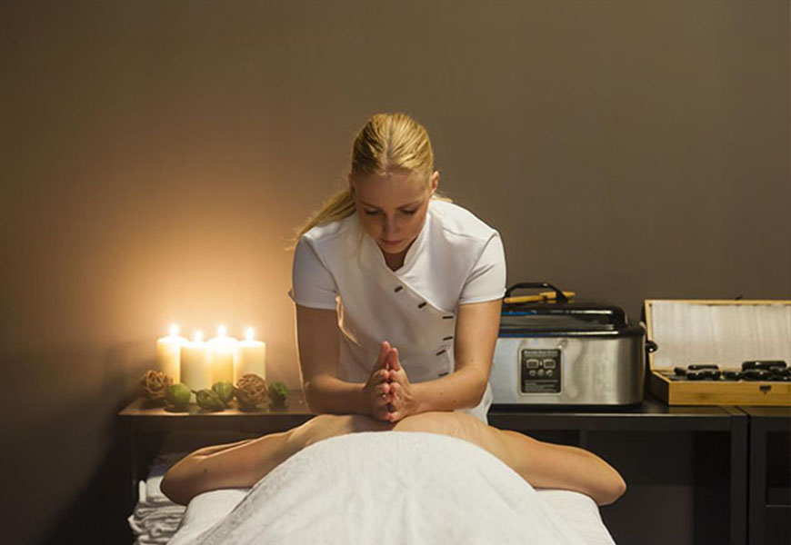 Massage bij wellness burgh-haamstede